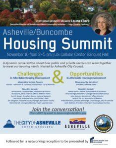 housing summit flyer