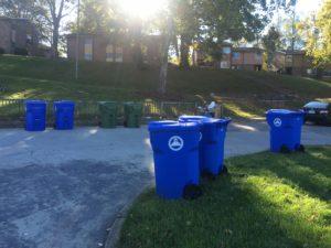 public housing recycling
