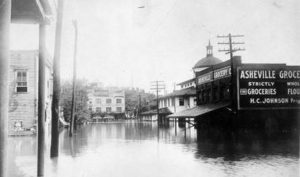 Flooded Asheville 1916