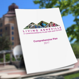 The City of Asheville did a lot of community engagement for its Comprehensive Plan Update in 2017. In 2018, the document will be finalized and presented to City Council for adoption.