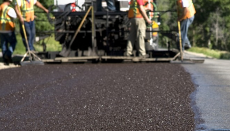 slurry paving photo