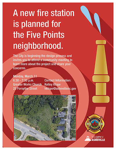 Fire Station 13 flyer