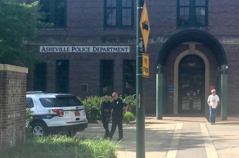 Asheville Police Department building